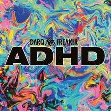 "Darq E Freaker - ADHD Ep - 12"" Vinyl"