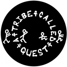 A Tribe Called Quest - Logo Glow In The Dark - Single Slipmat