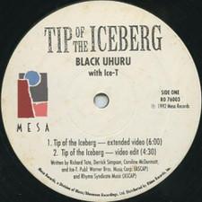 """Black Uhuru - Tip Of The Iceberg - 12"""" Vinyl"""