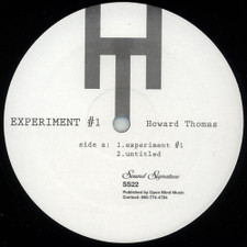 "Howard Thomas - Experiment #1 - 12"" Vinyl"