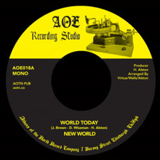 "New World - World Today / J.R - 7"" Vinyl"