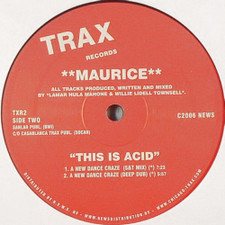 "Maurice - This Is Acid - 12"" Vinyl"