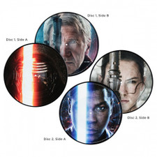 John Williams - Star Wars: The Force Awakens - 2x LP Picture Disc