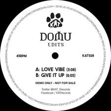 """Domu - Edits - 12"""" Vinyl"""