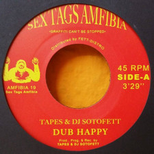 "Tapes & DJ Sotofett - Dub Happy - 7"" Vinyl"