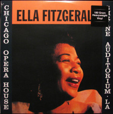 Ella Fitzgerald - Chicago Opera House & Shrine Auditorium LA - LP Vinyl