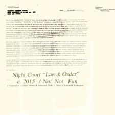 Night Court - Law & Order - LP Vinyl