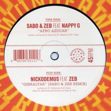 "Sabo & Zeb - Afro Azucar - 12"" Vinyl"