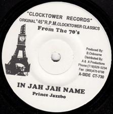 "Prince Jazzbo / Aggrovators - In Jah Jah Name - 7"" Vinyl"