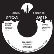 "Strange - Madness / If You're So In Love - 7"" Vinyl"