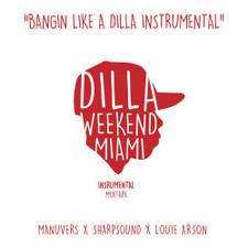 J Dilla - Bangin' Like A Dilla Instrumentals - 2x LP Vinyl