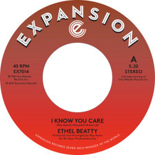 """Ethel Beatty - I Know You Care / It's Your Love - 7"""" Vinyl"""