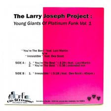 "The Larry Joseph Project - Young Giants Of Platinum Funk Vol. 1 - 12"" Vinyl"