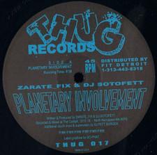 "Zarate_Fix / Dj Sotofett - Planetary Involvement - 12"" Vinyl"