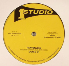 """Don D Jr / Jackie Mittoo - Heavenless / After Christmas - 12"""" Vinyl"""