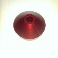 "Aluminum Spindle Adapter - Red - 7"" Adapter"