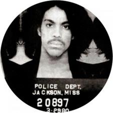 Prince - Mugshot - Single Slipmat