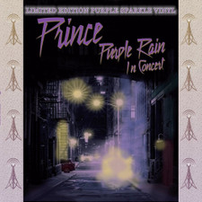 Prince - Purple Rain In Concert - LP Colored Vinyl