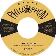 "Bajka - The World / Invisible Joy - 7"" Vinyl"