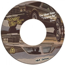 "The Silver Rider / Osmose - Motor City 45 - 7"" Vinyl"