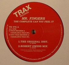 """Mr. Fingers - The Complete Can You Feel It - 12"""" Vinyl"""