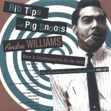 Andre Williams - Rib Tips & Pig Snoots - LP Vinyl