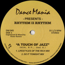 "Rhythm II Rhythm - A Touch Of Jazz - 12"" Vinyl"