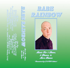 Babe Rainbow - Music For 1 Piano, 2 Pianos, & More Pianos - Cassette