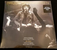 Bruce Springsteen - Live In Studios: Houston 3/9/74 & Boston 1/10/73 - LP Vinyl