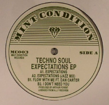 "Techno Soul - Expectations - 12"" Vinyl"