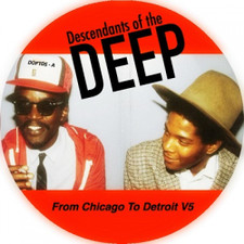 """Various Artists - From Chicago To Detroit Vol. 5 - 12"""" Vinyl"""