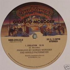 """Giorgio Moroder - Evolution/I Wanna Rock You - 12"""" Vinyl"""