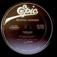 "Michael Jackson - Thriller - 12"" Vinyl"