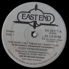 "Teddy Pendergrass - The More I Get, The More I Want - 12"" Vinyl"
