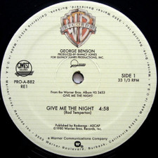 "George Benson / Rufus & Chaka Khan - Give Me The Night / Ain't Nobody - 12"" Vinyl"
