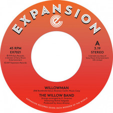 "The Willow Band - Willowman / Funky Guitar Man - 7"" Vinyl"
