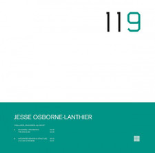 "Jesse Osborne-Lanthier - Unalloyed, Unlicensed. All Night! - 12"" Vinyl"