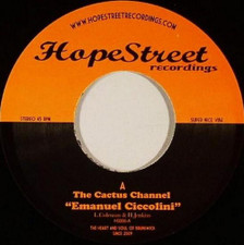 "The Cactus Channel - Emanuel Ciccolini - 7"" Vinyl"