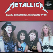 Metallica - Live At The Hammersmith Odeon, London 9/21/1986 - LP Vinyl