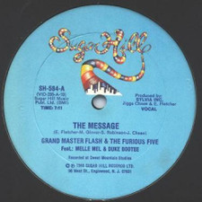 "Grandmaster Flash - The Message - 12"" Vinyl"