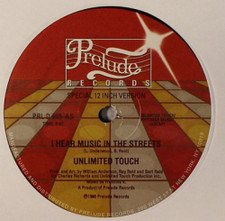 """Unlimited Touch - I Hear Music In The Streets - 12"""" Vinyl"""