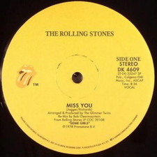 """Rolling Stones - Miss You/Emotional Rescue - 12"""" Vinyl"""