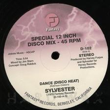 """Sylvester - Dance (Disco Heat) / You Make Me Feel - 12"""" Vinyl"""