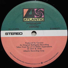 "Cerrone - Supernature/Give Me Love - 12"" Vinyl"