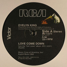 "Evelyn King - Love Come Down - 12"" Vinyl"