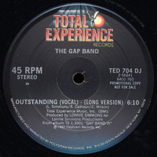 "The Gap Band - Outstanding - 12"" Vinyl"