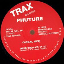 """Phuture - Acid Tracks - 12"""" Vinyl"""