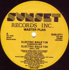 "Master Plan - Electric Baile - 12"" Vinyl"