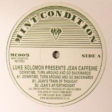 "Luke Solomon Presents Jean Caffeine - Downtime, Turn Around & Go Backwards - 12"" Vinyl"