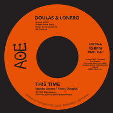 """Douglas & Lonero - This Time / Don't Let Yourself Get Carried Away - 7"""" Vinyl"""